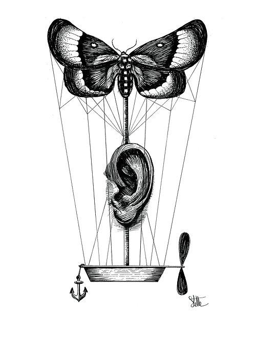 """""""Listen my Dream"""" de Stelle Illustration"""