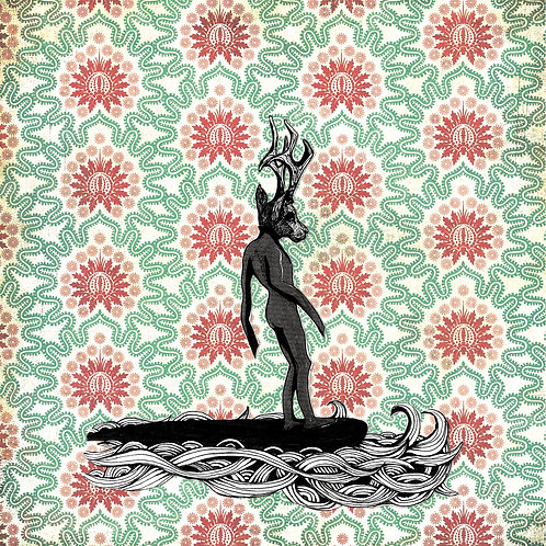 """Surfer Deer I"" de Stelle Illustration"