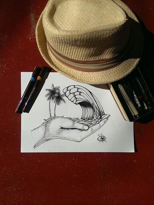 """""""Polhena"""" by Stelle illustration"""