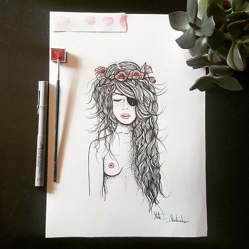 Princesse Pirate rose
