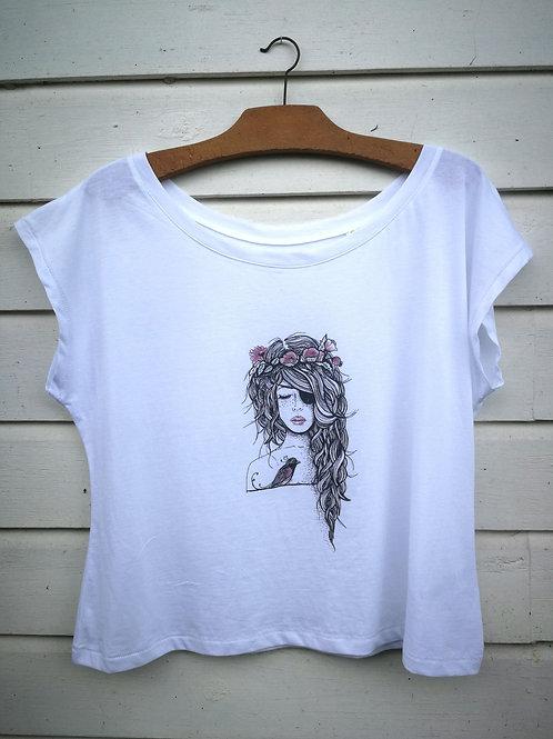 T. Shirt Princesse Pirate rose