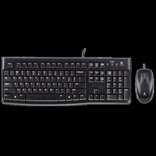 Combo Teclado- Mouse MK120 logitech