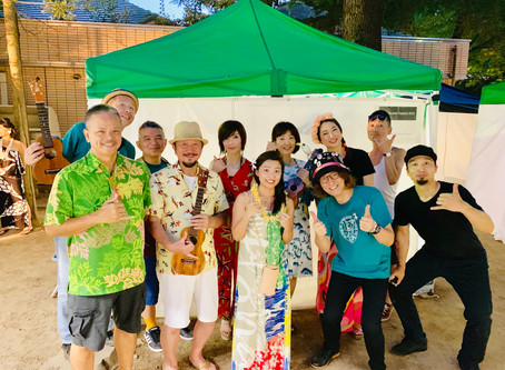 Hula 'Ukulele Festival 2019 (2019.8.6)@勾当台公園 いこいの広場
