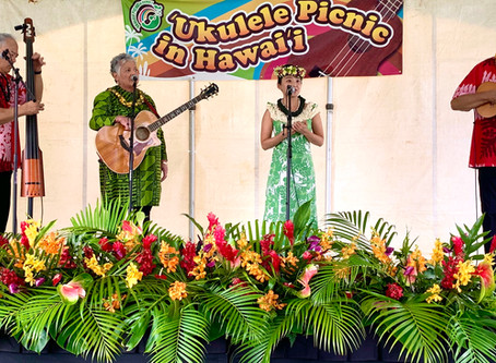 Ukulele Picnic 2020 in Hawaii
