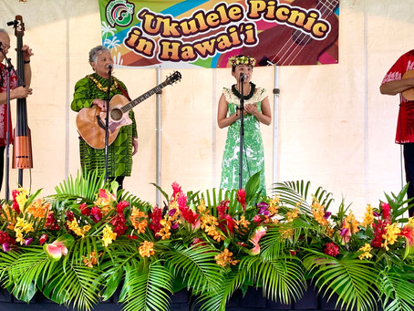 Ukulele Picnic 2020 in Hawaii