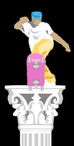 Charlottesville Skatepark Logo Concept
