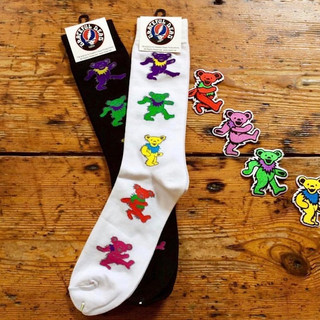 Grateful Dead Dancing Bears Socks