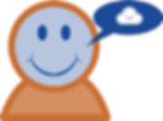 HablaCloud funny logo