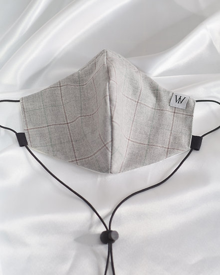 Suit Fabric - Adjustable Face Mask