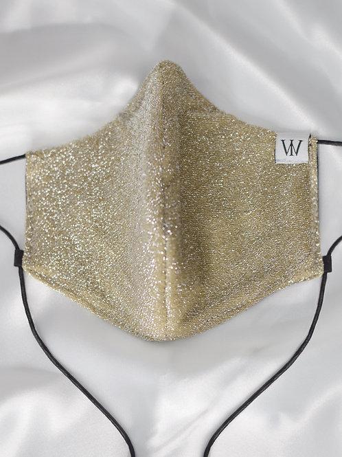 Golden - Adjustable Face Mask