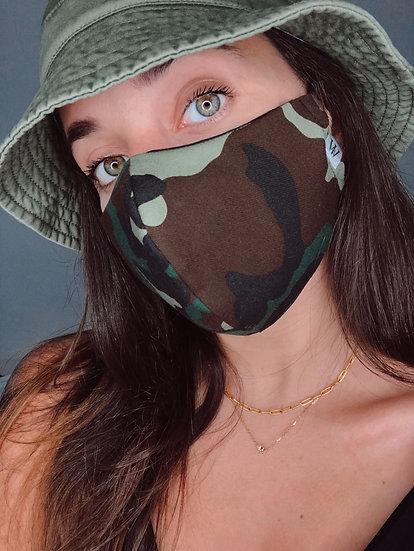 Camo- Face Mask