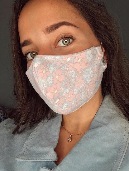 Pink/blue - Face Mask