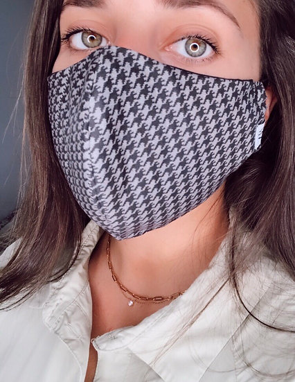 Houndstooth - Face Mask