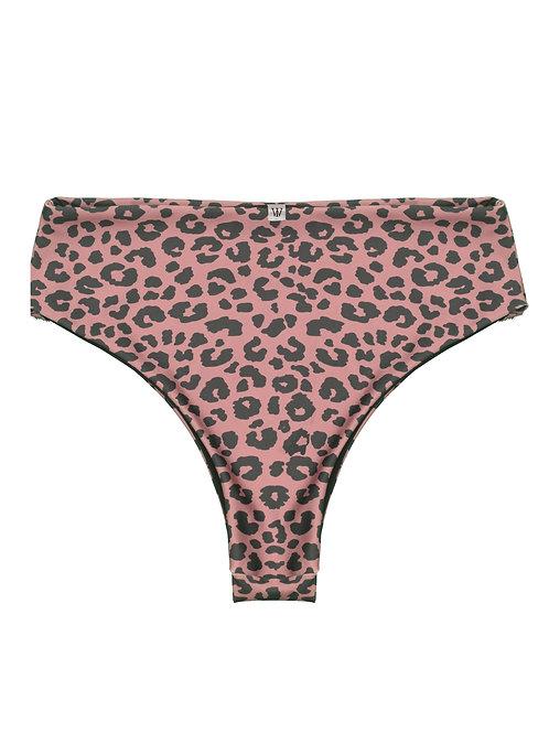High-waist bottom - leopard