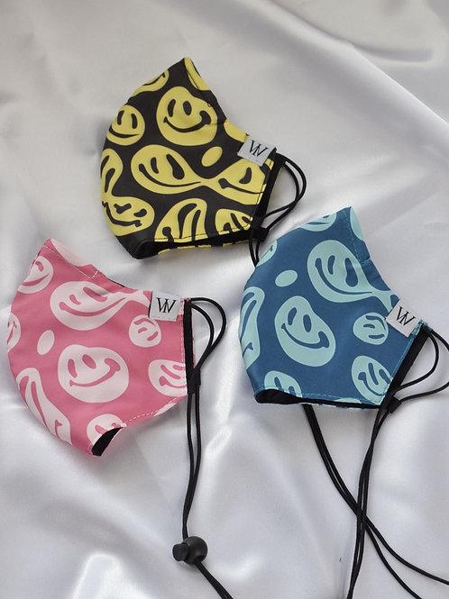 Smile Azul - Adjustable Face Mask