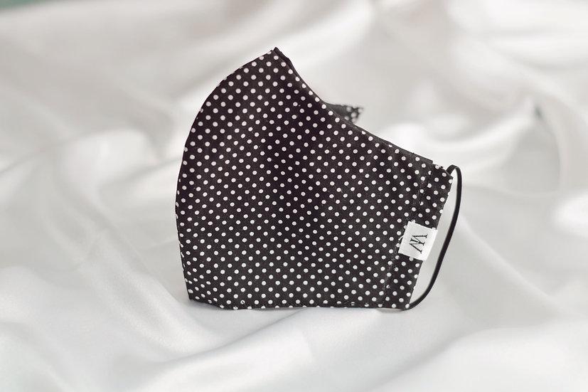 Black Dots - Face Mask