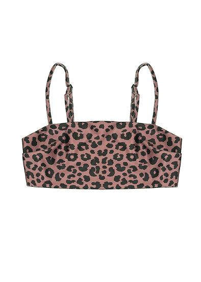 Bandeau top - leopard