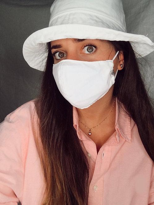 White - Face Mask