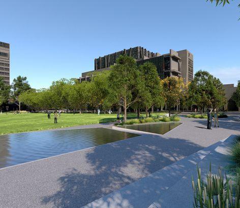 University Square, University of Melbourne