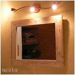 Palette co miroirs pendules tableaux for Miroir 80x60