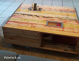 palette co tables basses et plateaux de tables. Black Bedroom Furniture Sets. Home Design Ideas