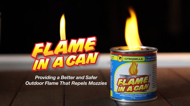 FLAME IN A CAN