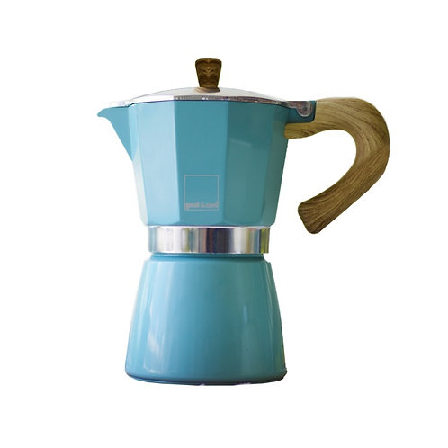Cafetera Venezia 3 tazas - Blue