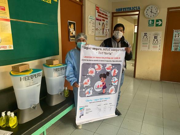 Centros de salud: Red Norte - Cusco