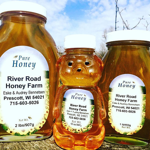 Honey, Raw, Local