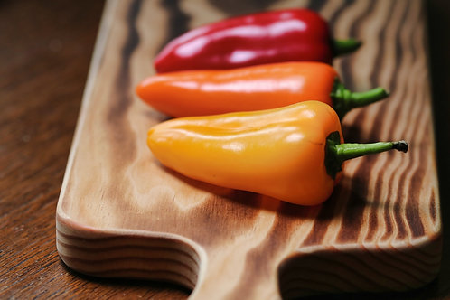 Red, Yellow Orange Peppers