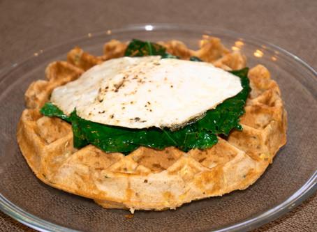 Zucchini Waffles: Sweet OR Savory