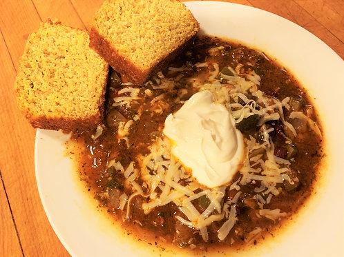 Soup, Vegetarian Chili, Quart