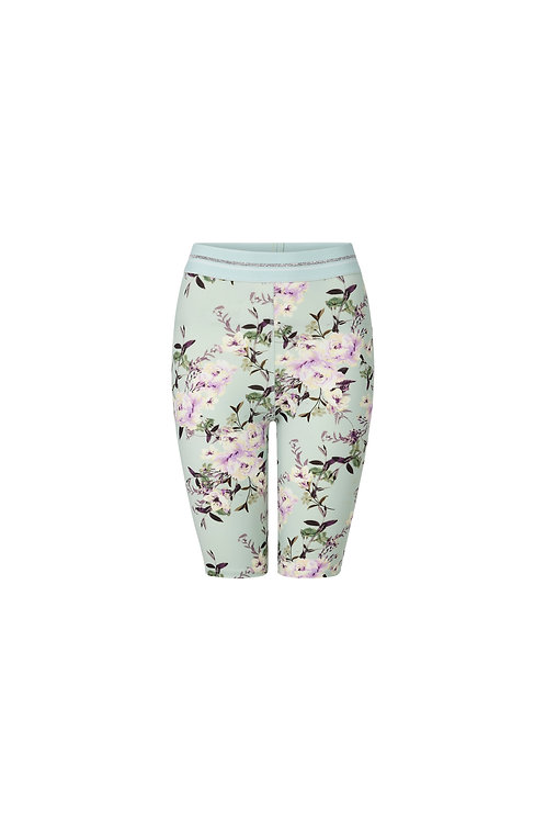 Rich & Royal - Short Leggings mit Blumenmuster