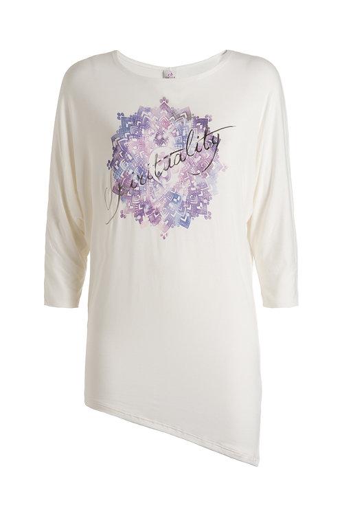 Deha Assymetric 3/4 Sleeve T-Shirt