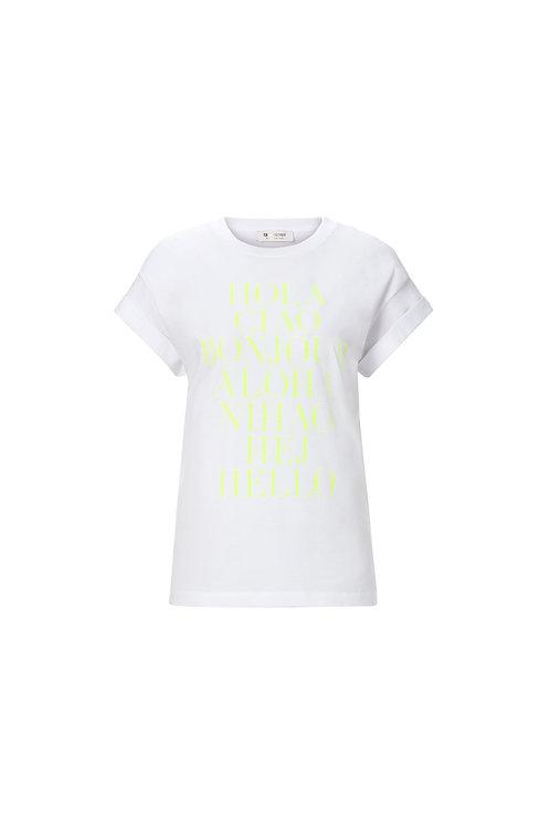 Rich & Royal - T-Shirt Hello - White