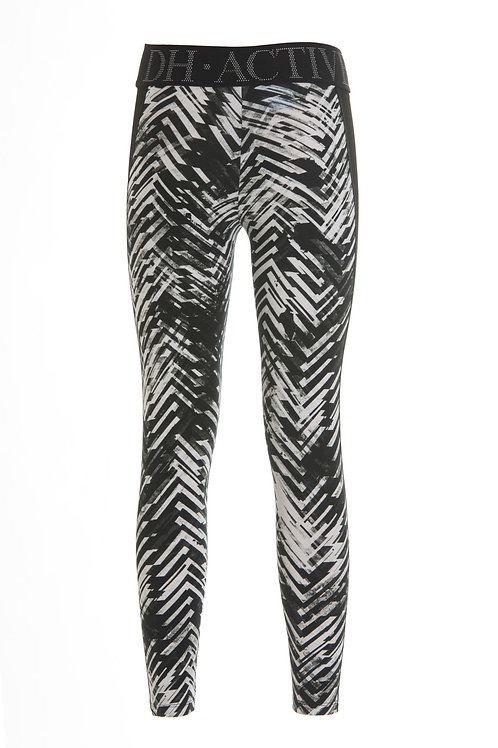 Deha Leggings - Black & White