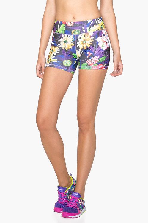 Shorts Compress Garden (Flower Print)