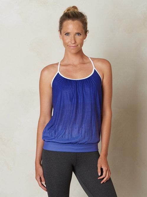 PrAna Meadow Top - Indigo Cascade
