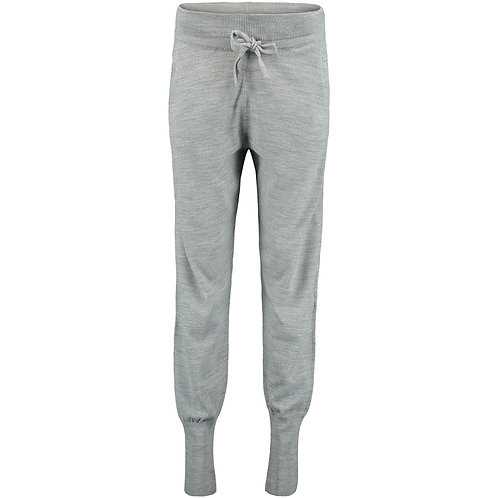 Mountain Knitted Jogger Pants (Silver Melee)