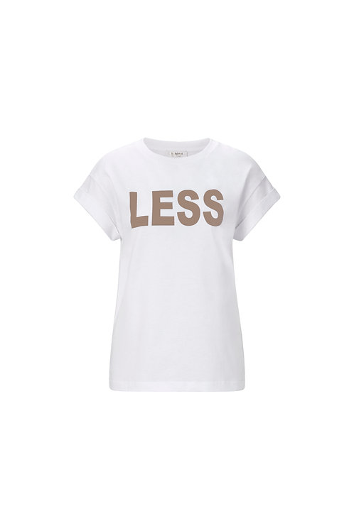 Rich & Royal - T-Shirt Less is More -Taupe