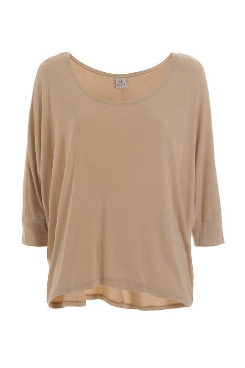 Deha Slouchy T-Shirt - Beige