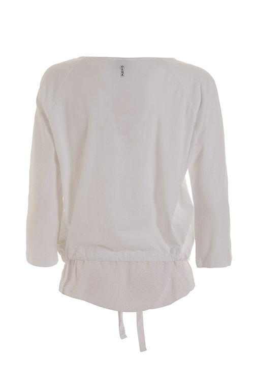 Deha Boatneck Shirt - White