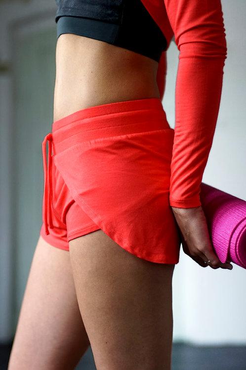 KISMET - Yoga Short Jaya (bright red)