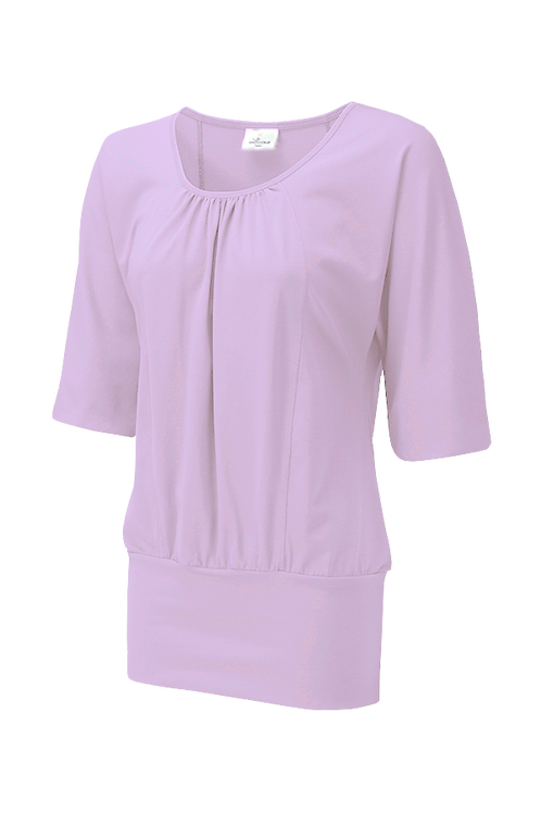 Wellicious - Easy Batwing Top - Violet