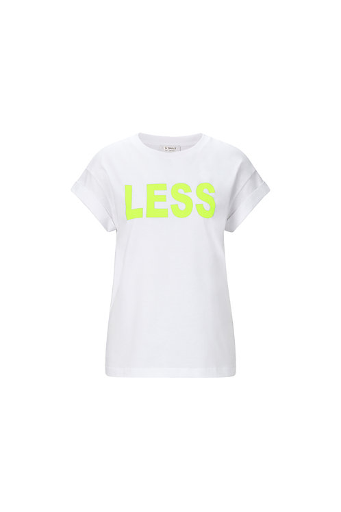 Rich & Royal - T-Shirt Less is More - Neon Yellow