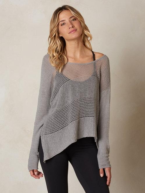 PrAna Liana Sweater - Silver