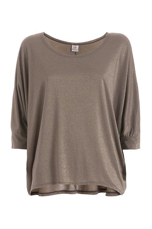 Deha Slouchy T-Shirt - Shiny