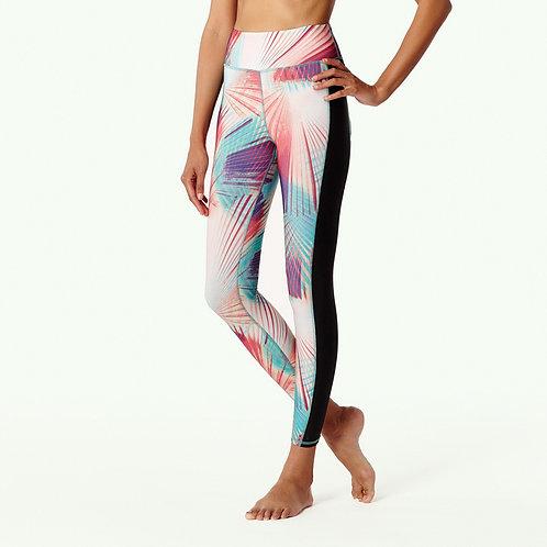 Active Print 7/8 Surf Legging (Pink aop w/ green)