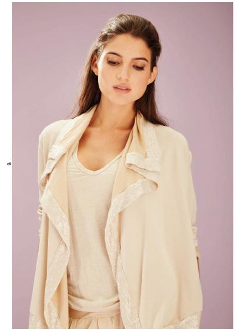 Deha Fleece Cardigan - Camel