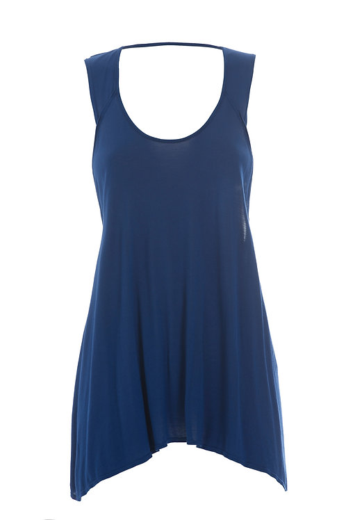 Deha Sleeveless Top - Blue